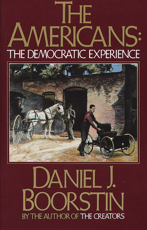 The Americans: The Democratic Experience Book Cover Picture