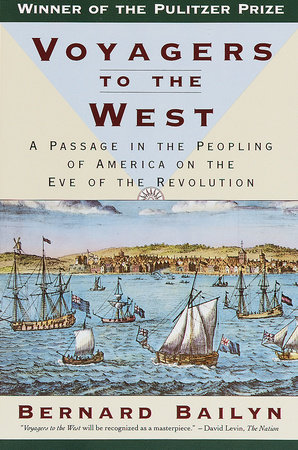 VOYAGERS TO THE WEST Book Cover Picture