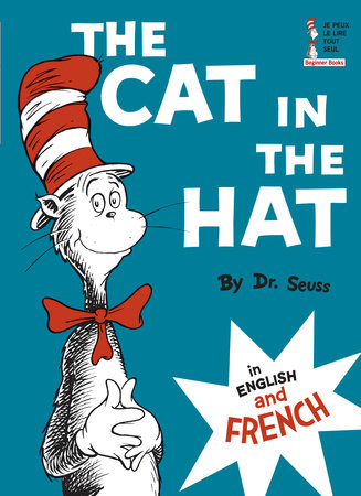 The Cat in the Hat in English and French by Dr. Seuss