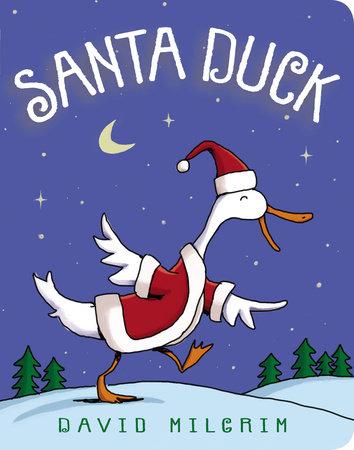 Santa Duck by David Milgrim