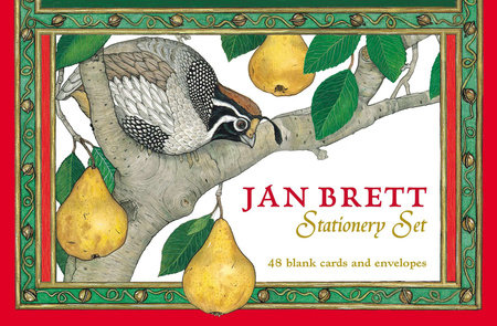 Jan Brett Stationery Set by Jan Brett