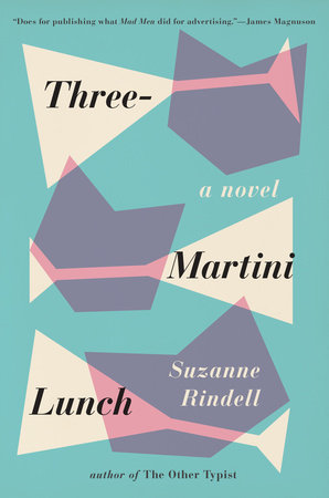Three-Martini Lunch Book Cover Picture