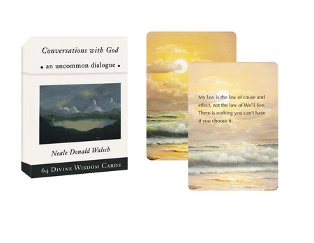 Conversations with God Divine Wisdom Cards by Neale Donald Walsch