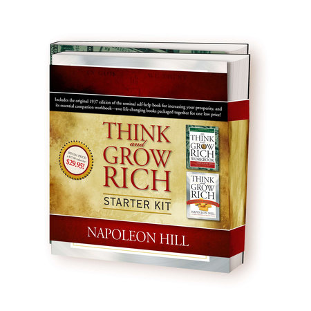 Think and Grow Rich Starter Kit by Napoleon Hill, Joel Fotinos and August Gold