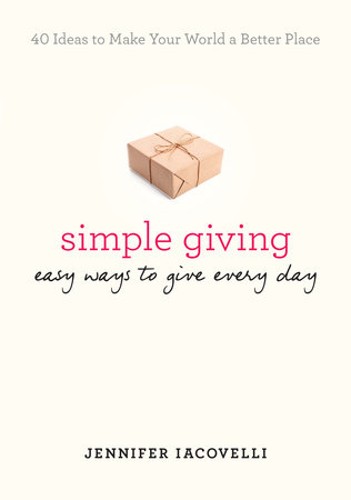The cover of the book Simple Giving