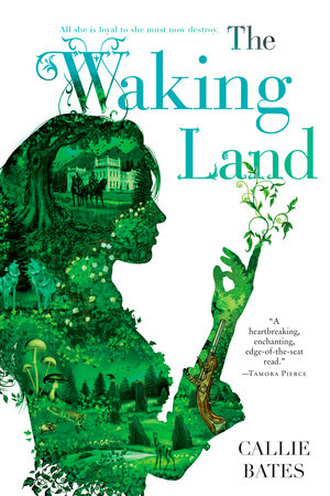 The cover of the book The Waking Land