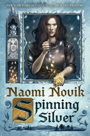 The cover of the book Spinning Silver