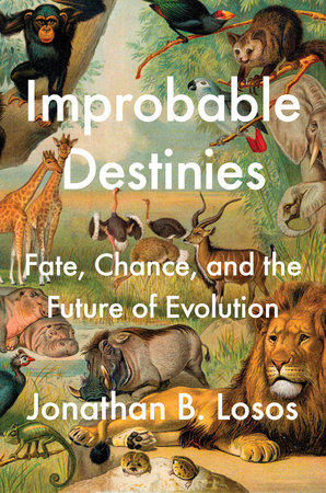 The cover of the book Improbable Destinies