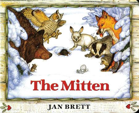 The Mitten Board Book Edition by Jan Brett