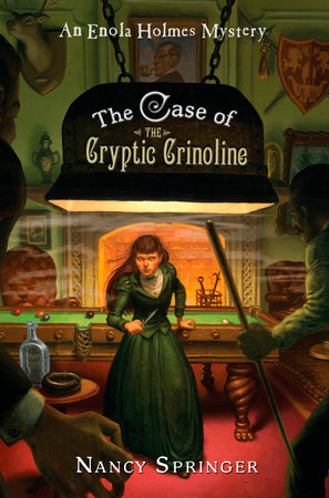 The Case of the Cryptic Crinoline by Nancy Springer