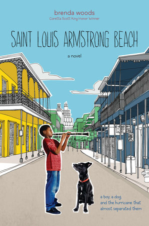 Saint Louis Armstrong Beach by Brenda Woods