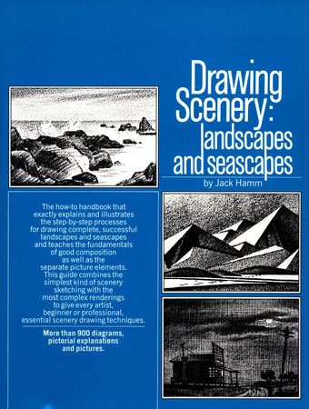 Drawing Scenery: Seascapes and Landscapes by Jack Hamm