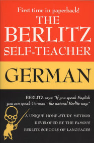 The Berlitz Self-Teacher -- German