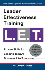 Leader Effectiveness Training L.E.T.