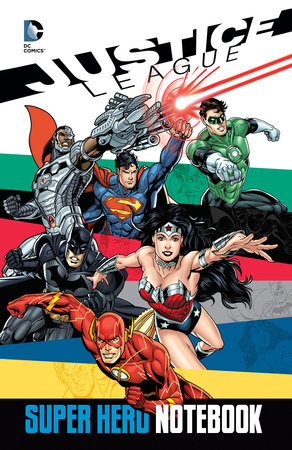Justice League Super Hero Notebook