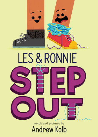 Les & Ronnie Step Out by Andrew Kolb