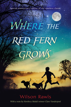 The cover of the book Where the Red Fern Grows