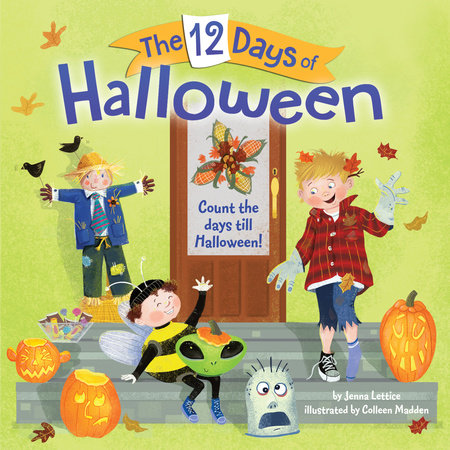 The 12 Days of Halloween by Jenna Lettice