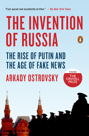 The cover of the book The Invention of Russia
