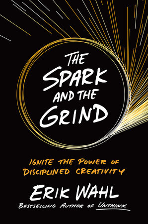The cover of the book The Spark and the Grind