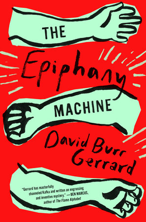 The cover of the book The Epiphany Machine