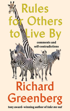 The cover of the book Rules for Others to Live By