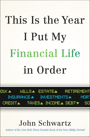 The cover of the book This is the Year I Put My Financial Life in Order