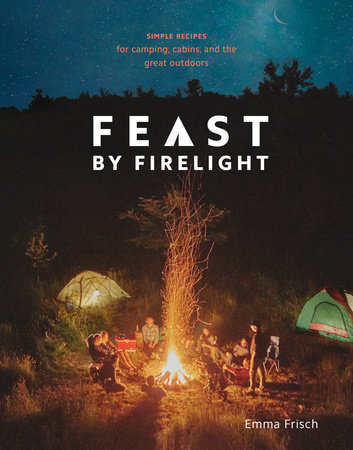 The cover of the book Feast by Firelight