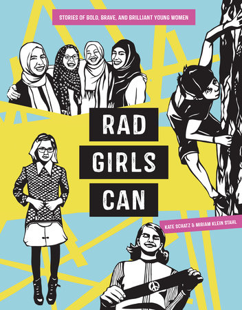 The cover of the book Rad Girls Can