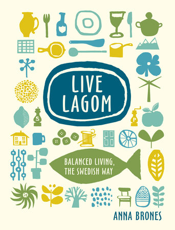 The cover of the book Live Lagom