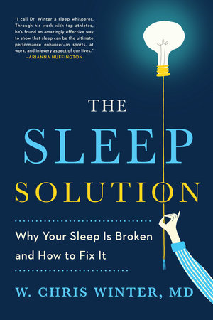 The cover of the book The Sleep Solution