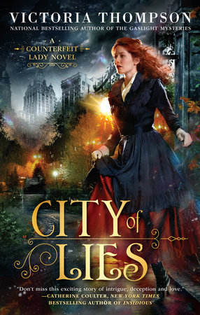 The cover of the book City of Lies