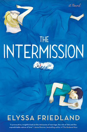 The cover of the book The Intermission