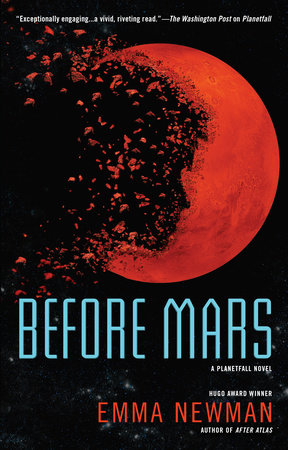 The cover of the book Before Mars