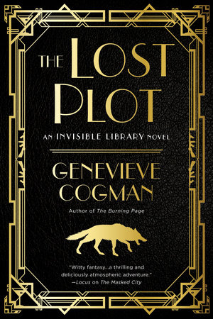 The cover of the book The Lost Plot