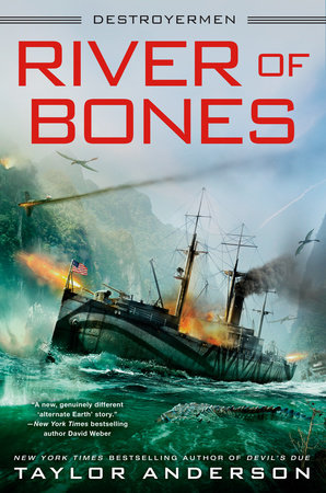 The cover of the book River of Bones