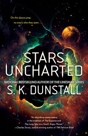 The cover of the book Stars Uncharted