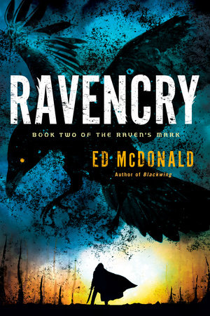 The cover of the book Ravencry