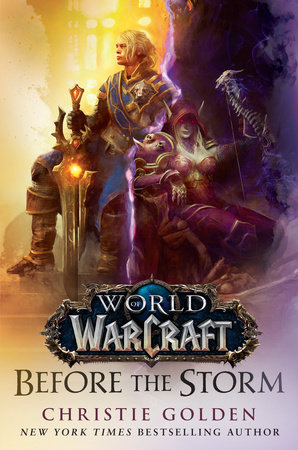 The cover of the book Before the Storm (World of Warcraft)