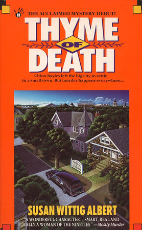 Thyme of Death by Susan Wittig Albert