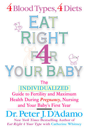 Eat Right For Your Baby by Dr. Peter J. D'Adamo and Catherine Whitney
