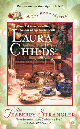 The Teaberry Strangler by Laura Childs