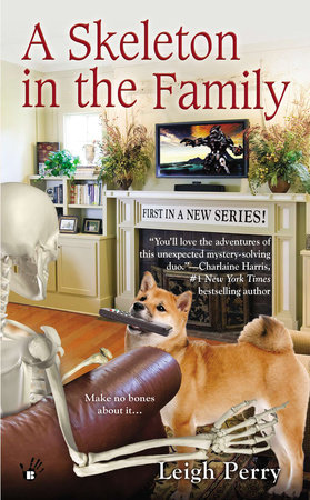 A Skeleton in the Family by Leigh Perry