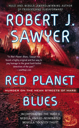 The cover of the book Red Planet Blues