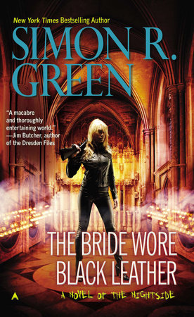 The Bride Wore Black Leather by Simon R. Green