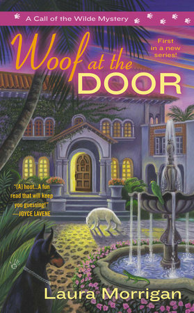 Woof at the Door by Laura Morrigan