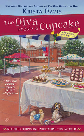The Diva Frosts a Cupcake by Krista Davis