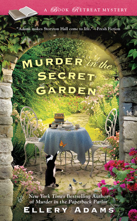 The cover of the book Murder in the Secret Garden
