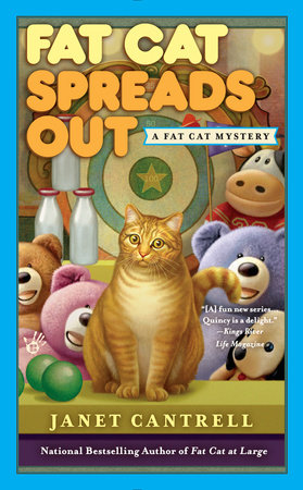 Fat Cat Spreads Out by Janet Cantrell