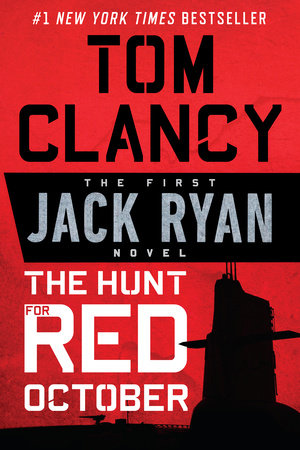 The cover of the book The Hunt for Red October